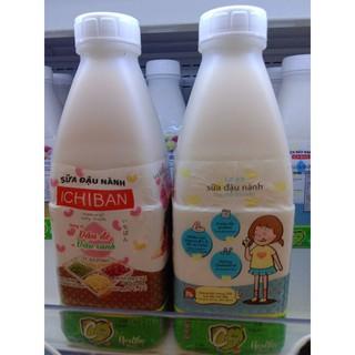Chai sữa đậu nành IChiban 800ml Tặng 01 chai sđn 300ml