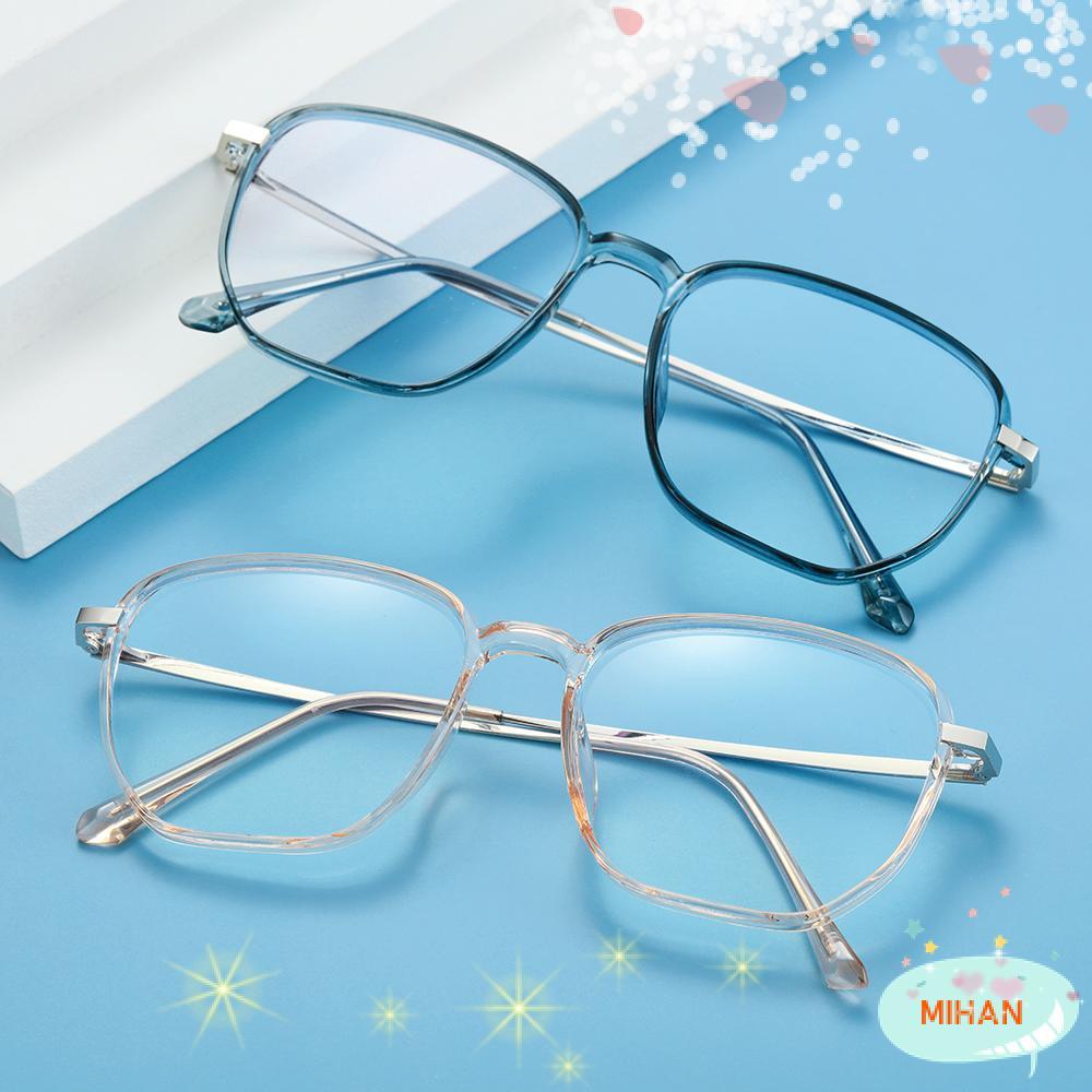 MIHAN1 Unisex Office Computer Goggles Vision Care Gaming Eyeglasses Blue Light Blocking Glasses Square Frame Anti Eyestrain Retro Eyewear Radiation...