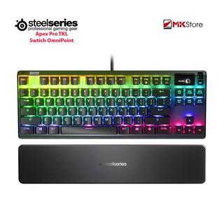 [Mã ELMSHX03 hoàn 6% xu đơn 2TR] Bàn phím cơ Steelseries APEX PRO TKL The Next Leap in Mechanical Keyboards thumbnail