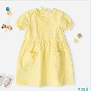 Váy Bé Gái Dáng Xòe Công Chúa 3 Màu Xinh Xắn Thời Trang Bello Land thumbnail