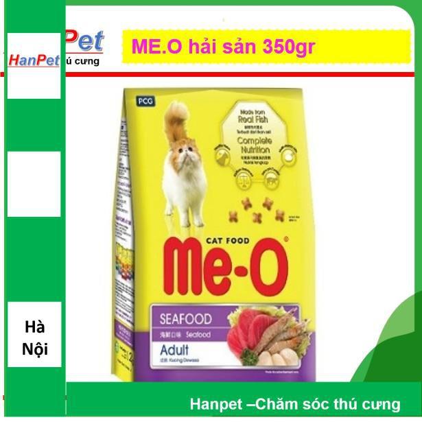(GIÁ SẬP SÀN) ME-O 350gr (Thức ăn viên cho mèo lớn vị Hải sản) hanpet 201e