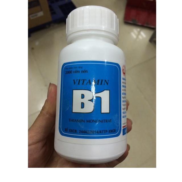 Hộp 2000 viên nén vitamin B1 cho cây trồng