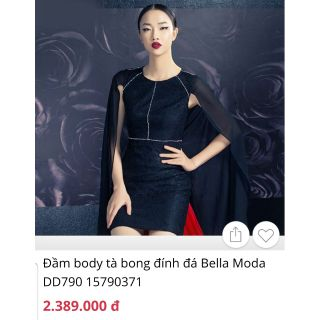 Đầm dự tiệc Bella luxury sz S newtag