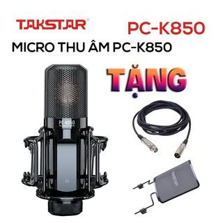 【Chính hãng】Mic thu âm Takstar PC-K850 hát karaoke, livestream, bán hàng, thu âm, BẢO HÀNH 1 NĂM SẢN PHẨM