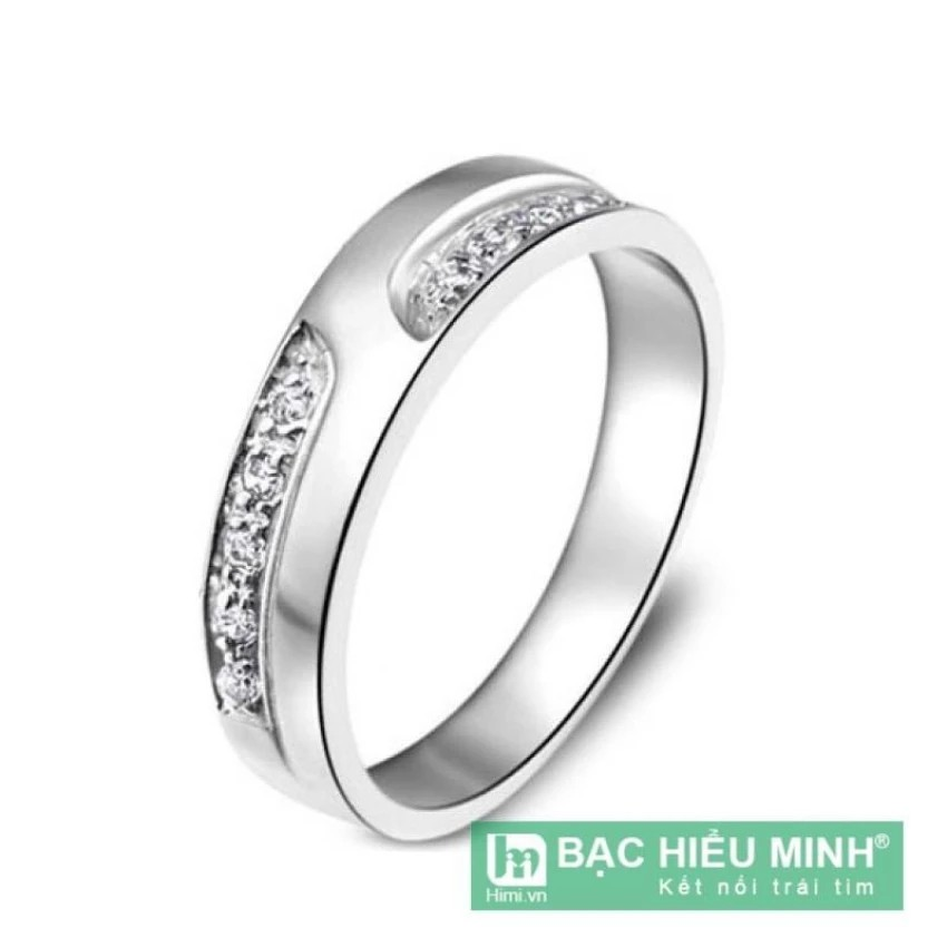Nhẫn nữ Bạc Hiểu Minh nu203