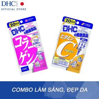 """Combo Viên uống DHC Làm sáng và Đẹp da 20 ngày và 60 ngày (Collagen & VitC) giá chỉ còn <strong class=""""price"""">54.900.000.000đ</strong>"""