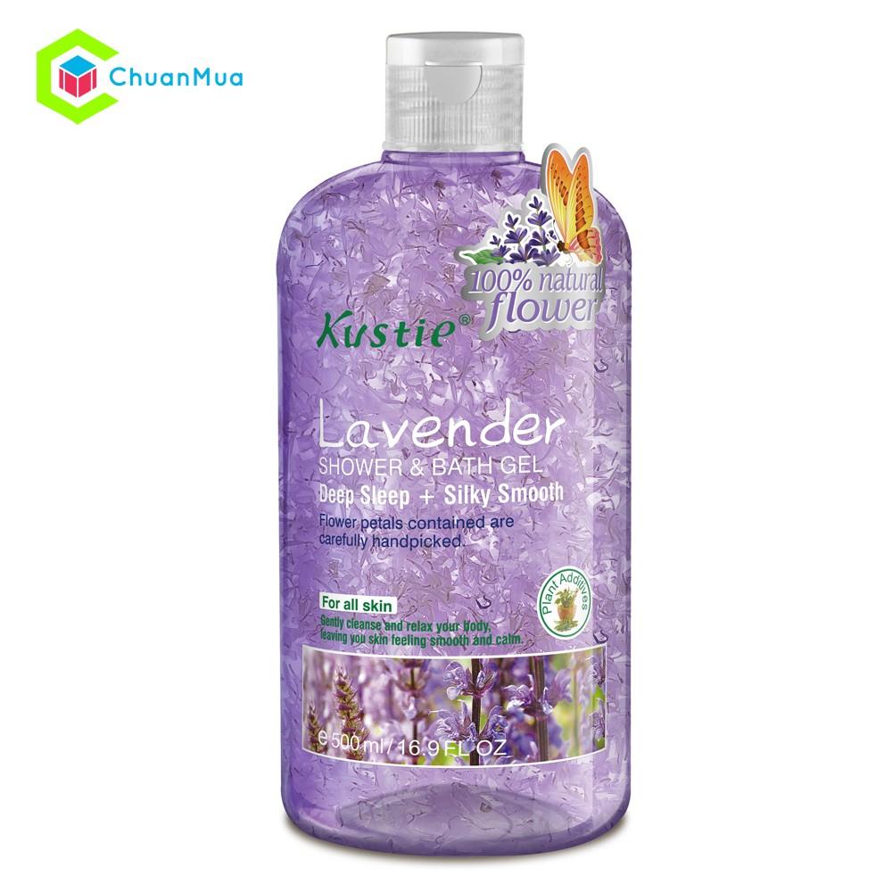 Sữa tắm Kustie Shower and Bath Gel 500ml Lavender - MPA063 - 2489238 , 278784173 , 322_278784173 , 299000 , Sua-tam-Kustie-Shower-and-Bath-Gel-500ml-Lavender-MPA063-322_278784173 , shopee.vn , Sữa tắm Kustie Shower and Bath Gel 500ml Lavender - MPA063