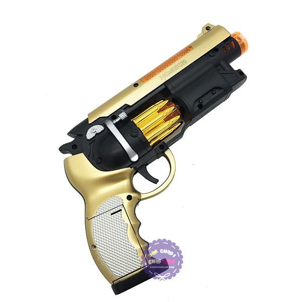 Hộp đồ chơi súng lục ngắn ổ xoay ru lô dùng pin có đèn nhạc - 2850955 , 537006155 , 322_537006155 , 83000 , Hop-do-choi-sung-luc-ngan-o-xoay-ru-lo-dung-pin-co-den-nhac-322_537006155 , shopee.vn , Hộp đồ chơi súng lục ngắn ổ xoay ru lô dùng pin có đèn nhạc