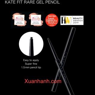 Chì kẻ mắt Kanebo Kate Fit Rare dạng gel, không lem trôi, nét mảnh cực đẹp (New) thumbnail
