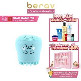 [Mã FMCGMALL - 8% đơn 250K] Bạch tuộc rửa mặt Dewytree Exfoliating Facial Silicone Brush - Berav Beauty