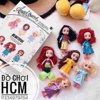 [BÚP BÊ CÔNG CHÚA DISNEY] Đồ chơi búp bê công chúa làm quà tặng cho bé thích chăm em thumbnail