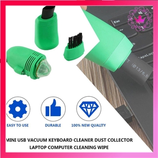 ⚛Mini USB Vacuum Keyboard Cleaner Dust Collector Laptop Computer Cleaning Wipe