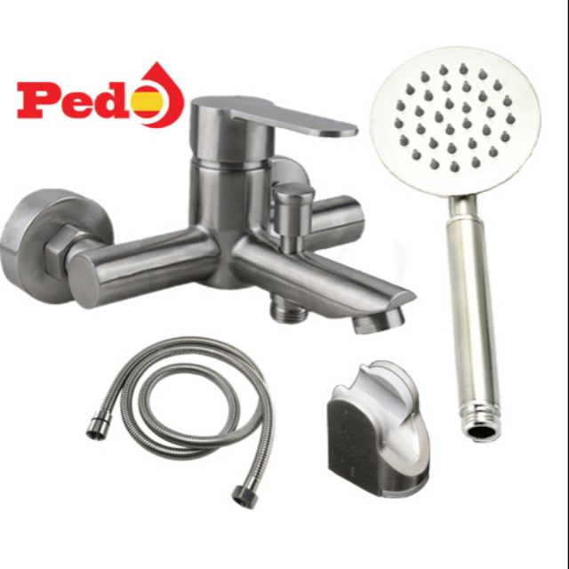 Bộ sen tắm inox 304 PEDO PO-208T