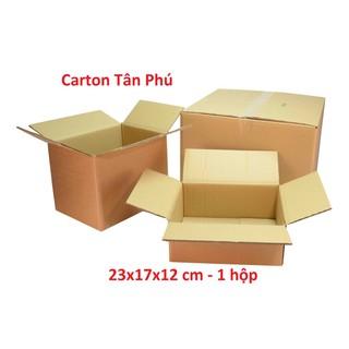 1 Hộp 23x17x12cm – Carton đóng hàng XẢ KHO