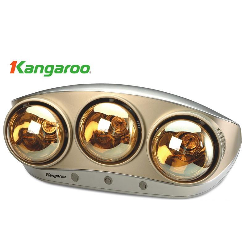 Đèn sưởi nhà tắm Kangaroo KG250 - BH chính hãng