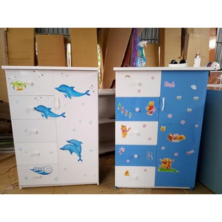 Tủ nhựa trẻ em Đài Loan 1 cánh 5 ngăn kéo giá 1tr050 khu vực Hà Nội