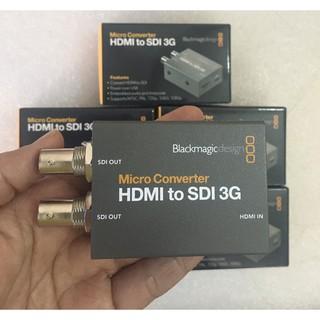 Bộ chuyển đổi Blackmagic Design Micro Converter HDMI to SDI 3G