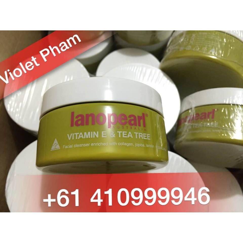 Sữa rửa mặt tinh chất trà xanh Vitamin E & Tea Tree - Lanopearl hộp 250ml của Úc - 2838656 , 63031868 , 322_63031868 , 289000 , Sua-rua-mat-tinh-chat-tra-xanh-Vitamin-E-Tea-Tree-Lanopearl-hop-250ml-cua-Uc-322_63031868 , shopee.vn , Sữa rửa mặt tinh chất trà xanh Vitamin E & Tea Tree - Lanopearl hộp 250ml của Úc