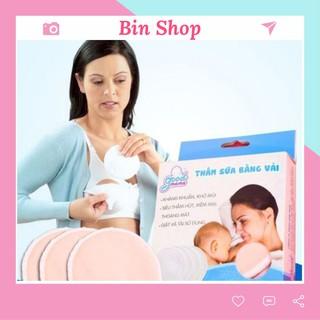 Miếng Lót Thấm Sữa Bằng Vải Good Mama Bin Shop (Hộp 8 Miếng) thumbnail