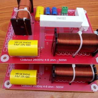 [Mã ELMSBC giảm 8% đơn 300K] mạch phân tần loa công suất lớn full đơn 1 bass 1 treble - 2 chiếc