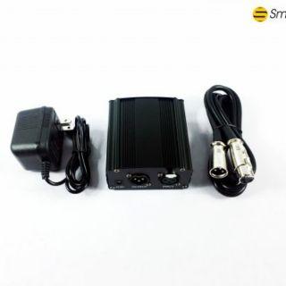 [Mã ELFLASH5 giảm 20K đơn 50K] Nguồn Phantom 48v cho micro thu âm Condenser