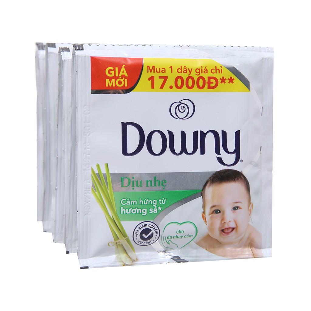 Nước xả vải cho bé Downy cho da nhạy cảm hương sả dây