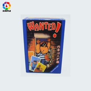 Bộ Trò chơi Wanted Board Game- Truy nã tội phạm thumbnail