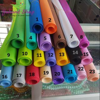 Giấy eva xốp, giấy bitis 1mm #11 – #23 ( giá/tấm)