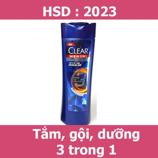 Dầu gội Clear Men 70g hsd 2023