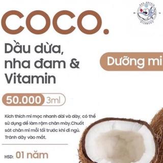 GELMICOCO – Dưỡng mi Dầu Dừa x Nha Đam