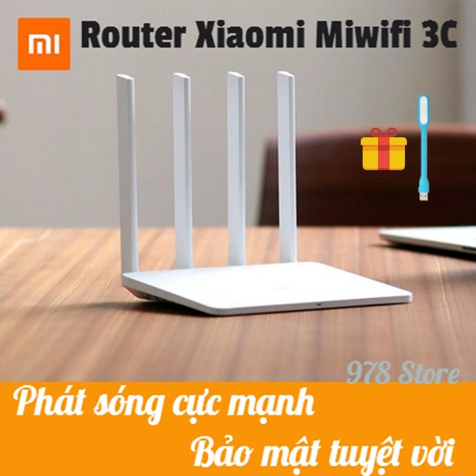 [SHOPEE TRỢ GIÁ] Bộ Phát Wifi Xiaomi Router Gen 3C | ROUTER XIAOMI MIWIFI 3C | BỘ THU PHÁT WIFI XIAO