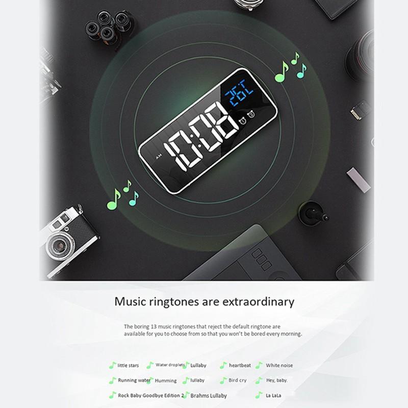 Đồng hồ âm nhạc đa năng kiểm soát giọng nói