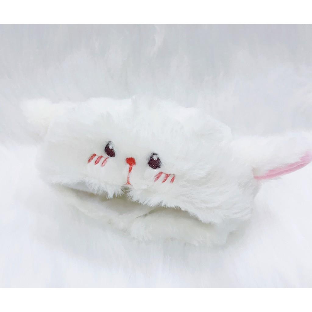 [Có sẵn] Mũ thỏ cho doll 15cm