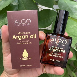 Tinh dầu phục hồi tóc Algo Argan Oil 50ml