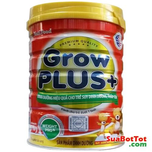 (sữa grow plus + nutifood lon 780g