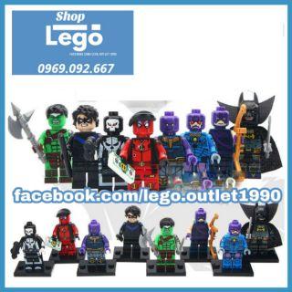 Xếp hình The Avengers Endgame Lego Minifigures Pogo Pg8121 thumbnail