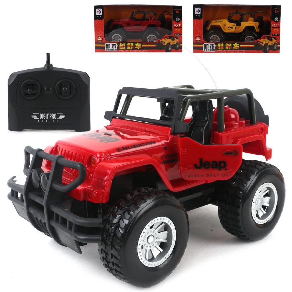 Xe Jeep Đồ Chơi Điều Khiển Từ Xa thumbnail