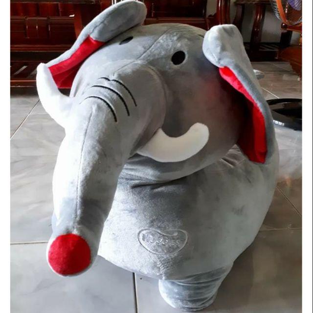 Ghế sofa hình con voi xám quà tặng thú nhồi bông huggies - 3487671 , 1073697236 , 322_1073697236 , 180000 , Ghe-sofa-hinh-con-voi-xam-qua-tang-thu-nhoi-bong-huggies-322_1073697236 , shopee.vn , Ghế sofa hình con voi xám quà tặng thú nhồi bông huggies
