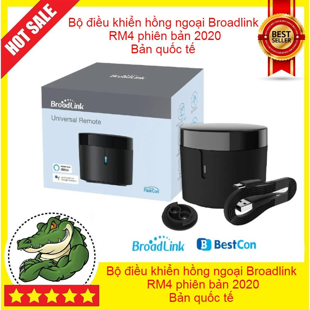 Bộ điều khiển hồng ngoại Broadlink Rm Mini 4 - RM4 phiên bản 2020 - bản quốc tế - đo...