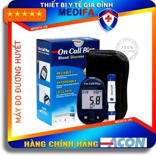 [Hàng chính hãng, Giá Đại Lý] Combo Máy Đo Đường Huyết On Call Plus, đủ phụ kiện kèm theo