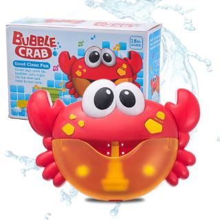 Bubble Crabs Music Baby Bath Toys Kids Pool Swimming Soap Machine Automatic Bubble Funny Crabs Frog