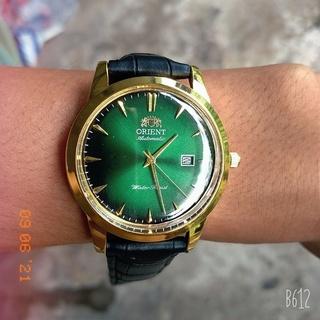 Đồng hồ nam Orient ( máy pin kim trôi ) thumbnail