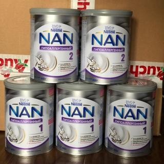 Sữa Nan HA Nga 1,2,3 (400g)