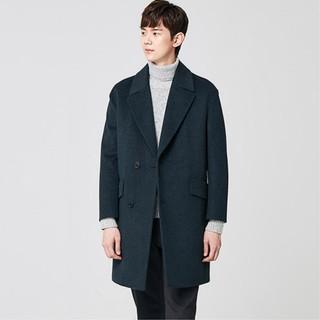 HOT   GIẢM GIÁ   Áo khoác măng tô nam lông cừu hàng hiệu cao cấp xuất khẩu Hàn ___