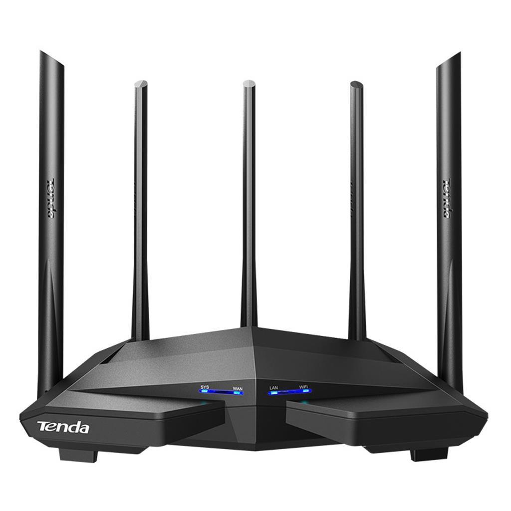 Thiết bị phát Wifi chuẩn -Tenda AC11 -AC6 -AC5 -Tenda F3-Tenda W15E -  AC 1200Mbps (5 anten 6 Dbi),Hàng mới 100% -dc3749