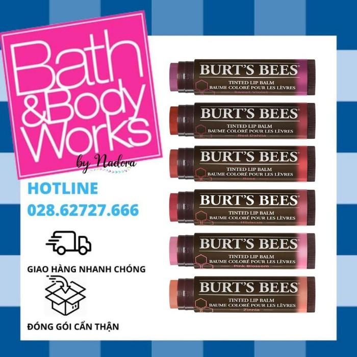 [ĐỦ MÀU] Son Dưỡng Môi Có Màu Burt's Bees Tinted Lipbalm (4.25g)