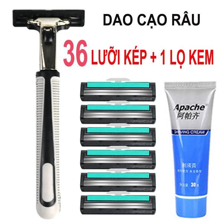 Bộ dao cạo râu 36 lưỡi | Shopee Việt Nam