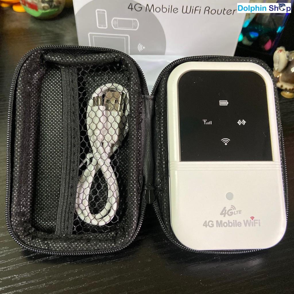 Bộ Phát Wifi 4G A800 Từ Sim 4G 3G Pin Khủng 2400mah Tốc Độ 150Mps - Hàng Loại 1 -  BH 6 tháng