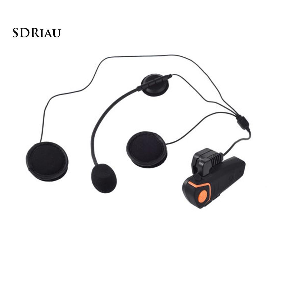 Tai Nghe Bluetooth Kèm Mic Gắn Mũ Bảo Hiểm