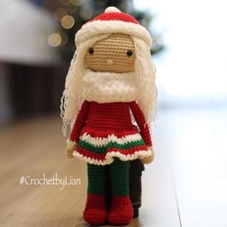 Búp bê len handmade , quà tặng giáng sinh